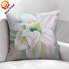 luxury polyester flower dye sublimation Cushion with painting