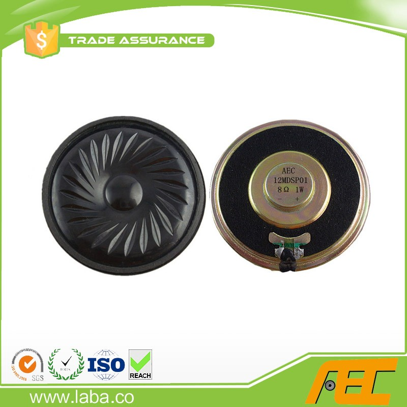 2 Inci Speaker Unit 50OHM 0.5 W 50 Mm Headphone Speaker