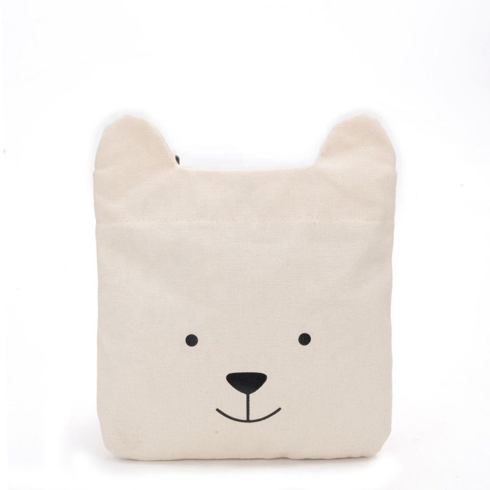 Adjustable Shoulder Strap Messenger Bag Samoyed Dog Cute Face Unisex Backpack Shoulder Crossbody Bag