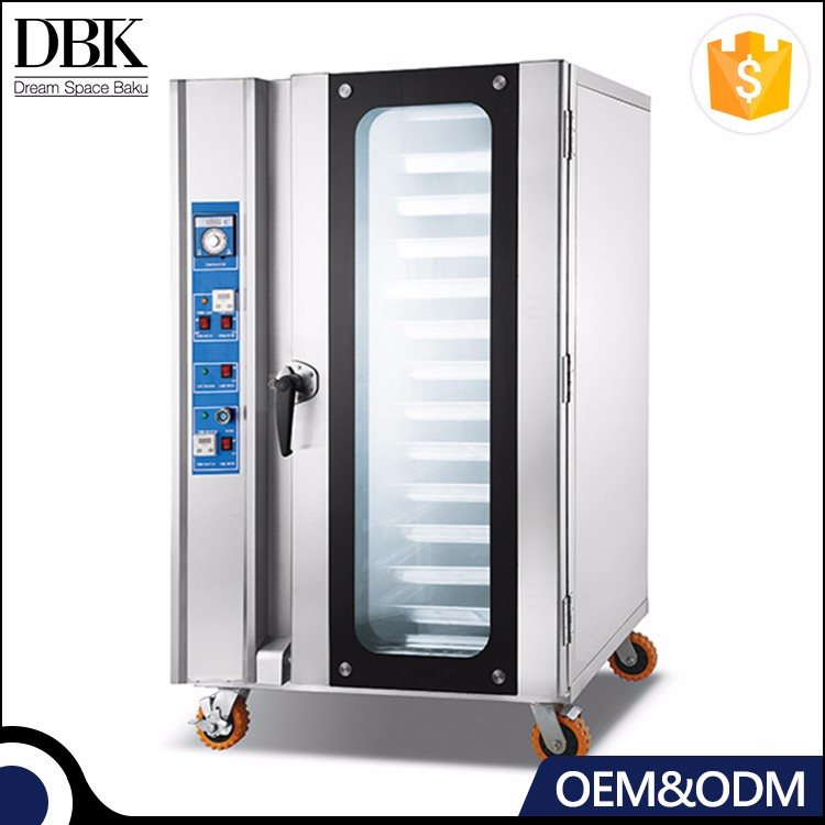 Kitchen Equipment 12 Pan commercial electric oven Steam convection bread oven