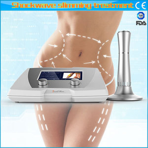 Beauty salon portable shock wave and diathermy slimming machine