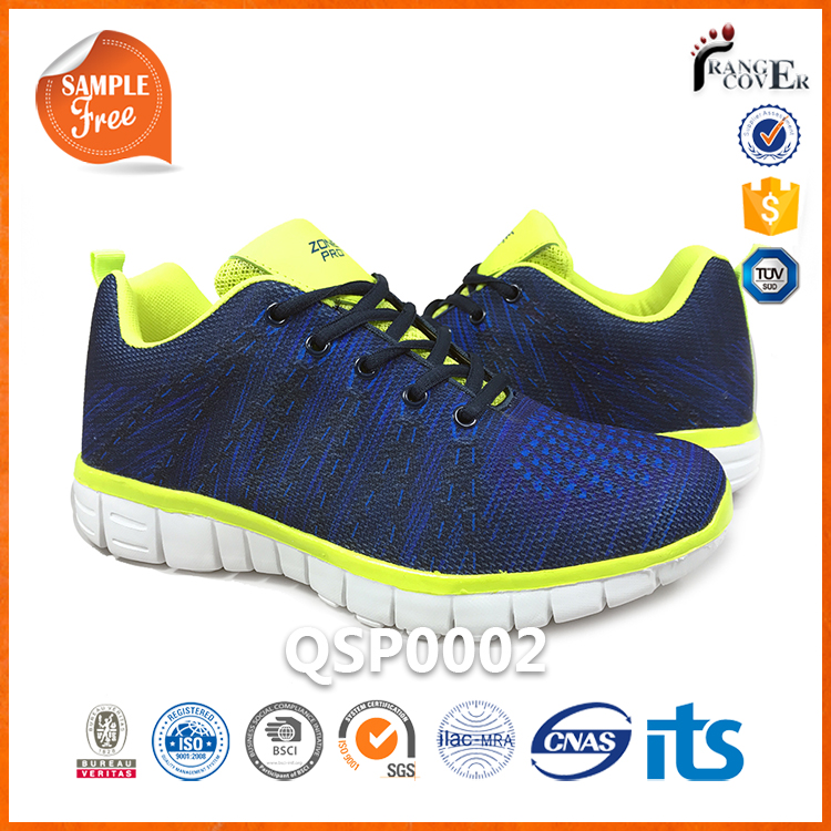 EVA Outsole Mesh Blue Men Cheap Used Shoes Wholesale From USA