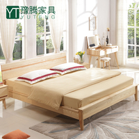 new style double bed designs YT-DB05