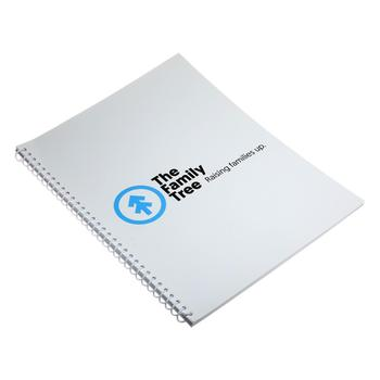 Cheap custom offset book printing services spiral binding