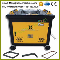 Price manual bar bending machine / flat bar bending machine / steel bar cutting and bending machine