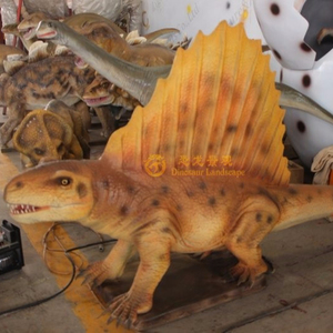 Jurassic world silicon rubber moving dinosaur animatronics for them park