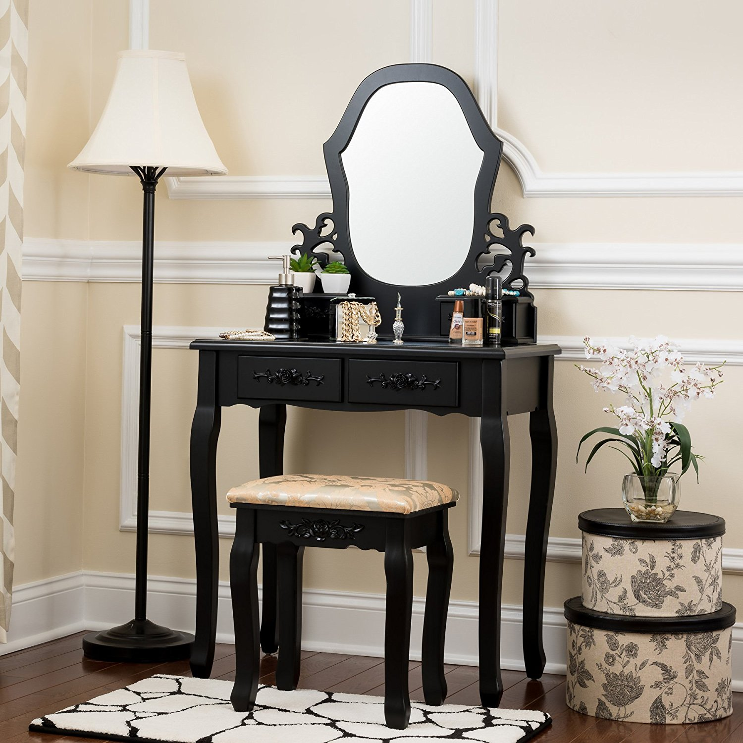 Cheap Black French Dressing Table Find Black French
