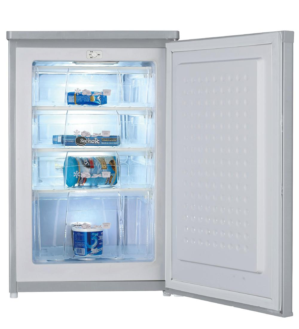 185l Manual Defrost Upright Deep Freezer Room With 6
