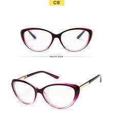 2019 новый дизайнер женские цветочные оптические очки оправа винтажные Цветочные кошачий глаз оправа прозрачные линзы очки черные красные о...(Китай)