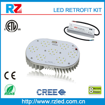 ip65 outoor waterproof ETL cETL Certificates led diy kit light led retrofit for 400 watt metal halide fixture with e40 socket
