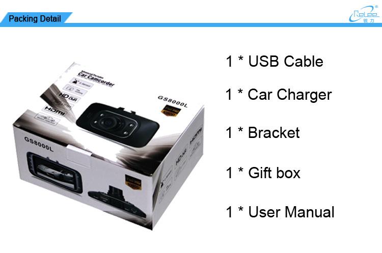 vehicle blackbox dvr instruction manual