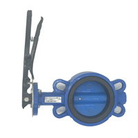 Aluminum handle sanitary Butterfly Valve Price List