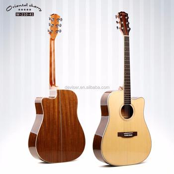 cheapest oem odm back walnut acoustic guitar we make all kinds of