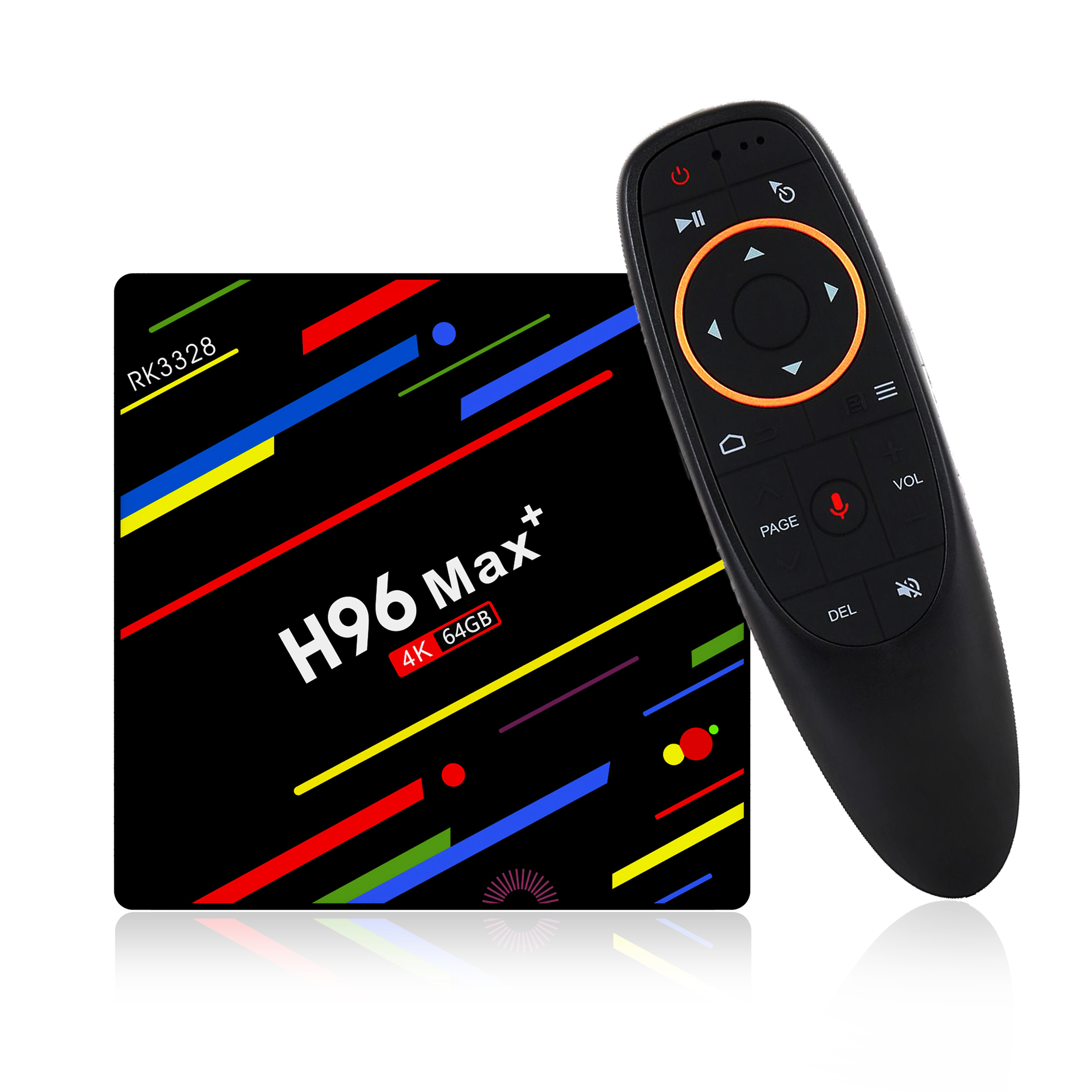 2018 Best Android 8 1 Android Tv Box H96 Max+ With Google Voice Control  Dual Wifi Set Top Box Supports Oem - Buy Android Tv Box,H96 Max+,Android  8 1