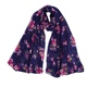 PEIHANLI 2018 fall Morning glory fancy styles cheap neckerchiefs flower print Polyester women voile thin scarf