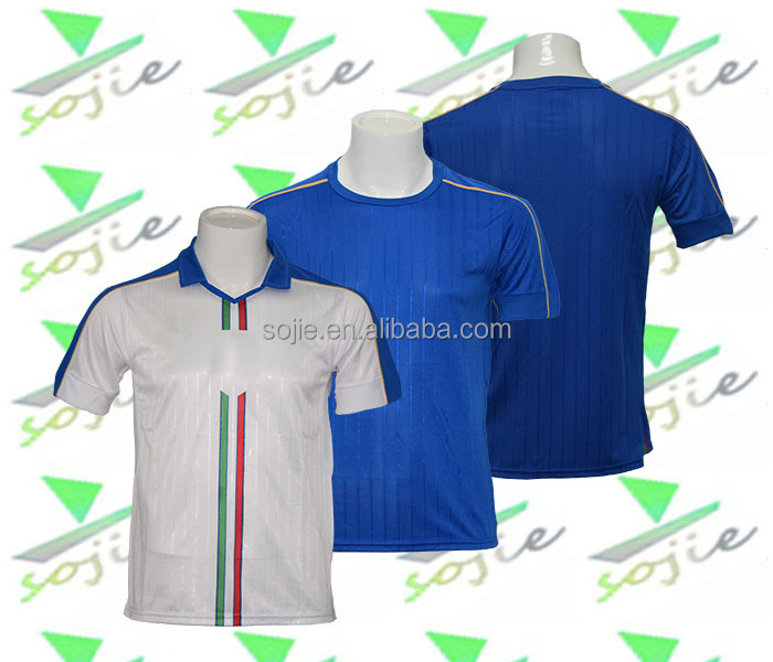 2016 national cup blue white soccer jersey european team soccer jerseys cheap football shirt maker soccer jersey