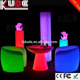 Modern LED Furniture Lighting Outdoor Lounge Bar Furniture with RGB Light