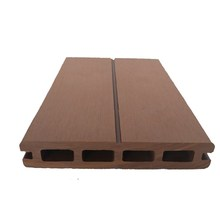 High plasticity moistureproof wood composite synthetic deck