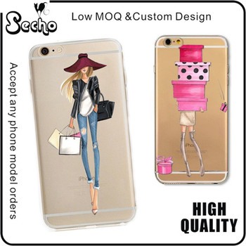 high quality uv printing personalized custom printed phone case for