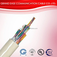 multi pair telephone cable, indoor connetcing telephone wire, HYV telephone cable color code