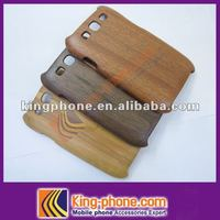 hot selling bamboo back cover For Samsung Galaxy S3