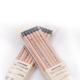 China supplier standard hb raw wood thin pencils With Eraser Top