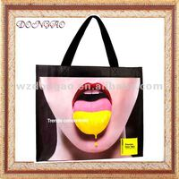 Made in China superior quality 2012 fashion gravure printed household bag