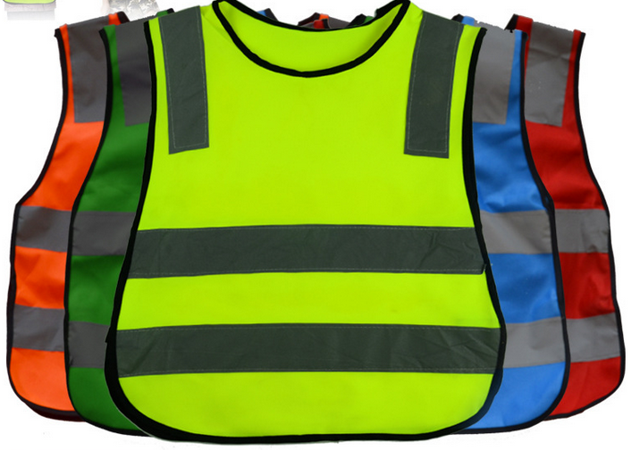 Reflective Vest Flourecent Green Safety With Id Pocket Jacket In Construction Fr