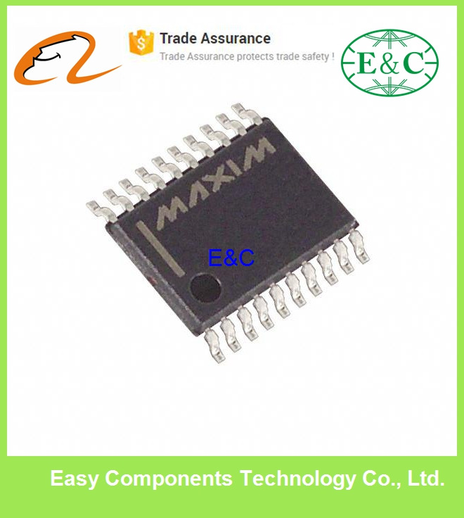 MAX1301BEUP+ IC ADC 16BIT SER 4CH LP 20TSSOP ADC Integrated Circuits