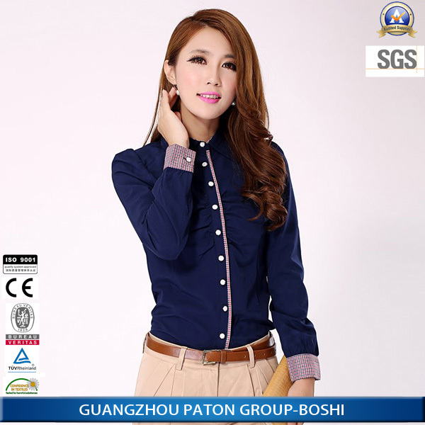 461d8d8b7 Señoras Corea Del Estilo Camisas Formales Mujeres Negocio