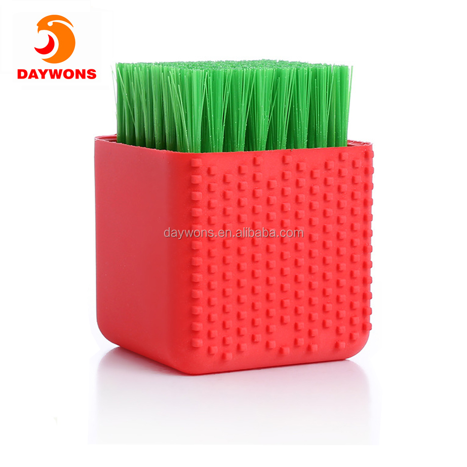 Creative Dual Use Silicone Laundry Brush Scrubbing Clothes Shoes Underwear Cleaning Household Washing Brushes