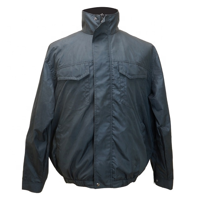 Air conditioned cooling jacket with fans and rechargeable battery Woodworking Bricklayer Steel Worker