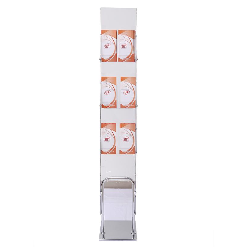 Акриловый держатель для брошюр книжная полка A4 размер портативный