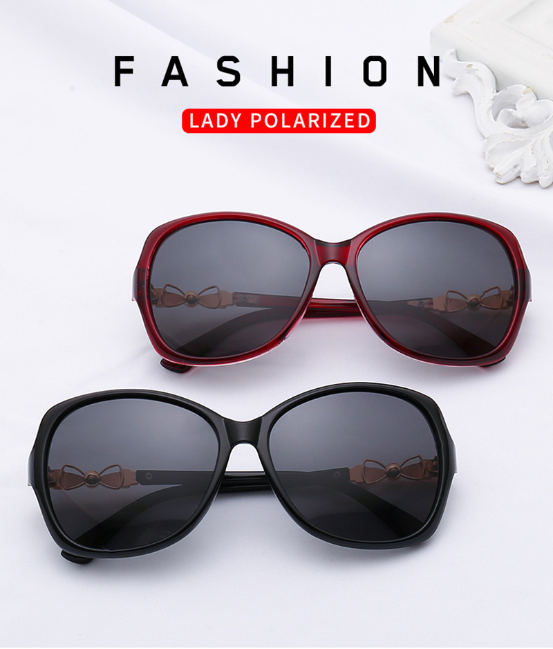 2019 Fashion Women Big Frame Oversized TAC Butterfly Metal Round Sunglasses