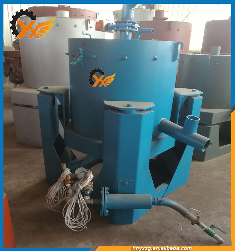 Centrifugal Concentrator Separating System Extraction of Gold from Its Ore