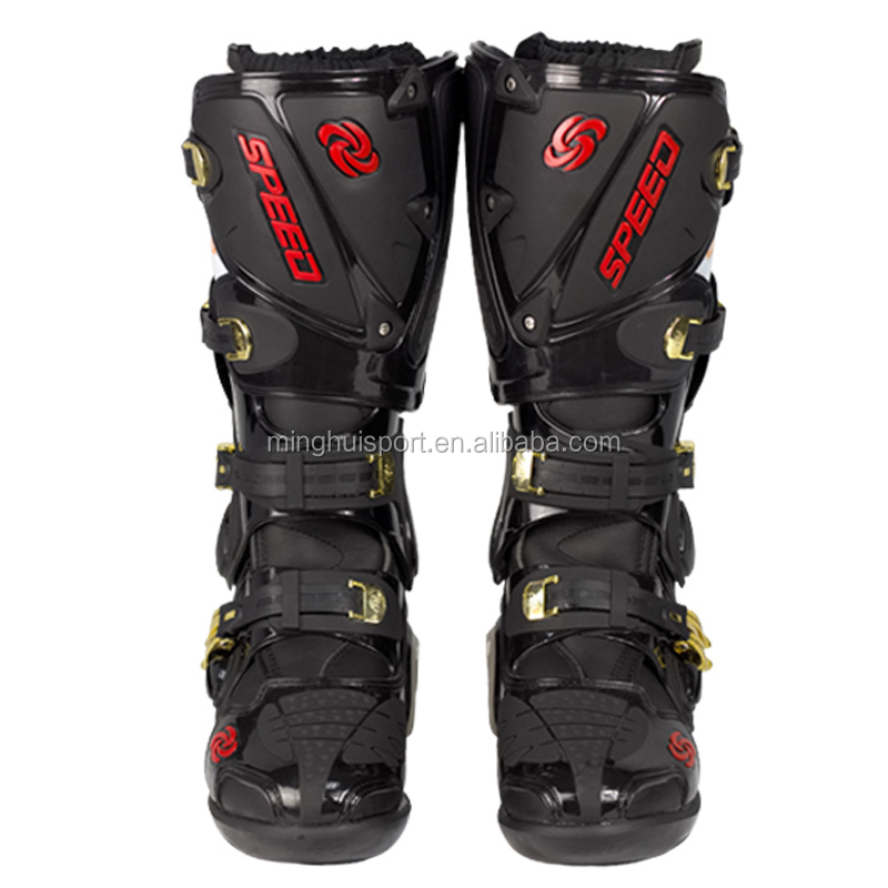 Motorcycle Race Boots New design motocross racing shoes for men adults and teenagers