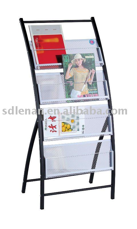 Magazine Rack For School / Office/ Library Used   Buy Magazine Rack,Magazine  Stand,Metal Magazine Rack Product On Alibaba.com