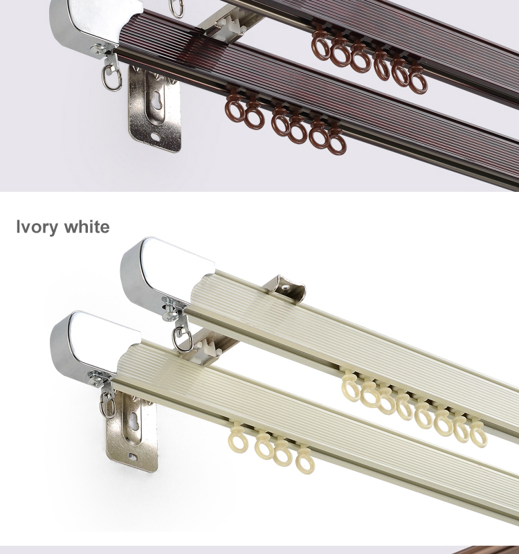 Home Decoration Accessories Shower Curtain Track Extension Brackets Buy Curtain Track