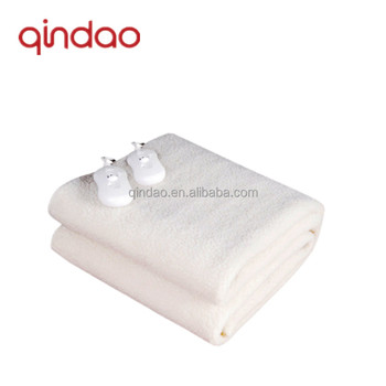 Guaranteed Quality Synthetic Wool Fleece Electric Heating Blanket