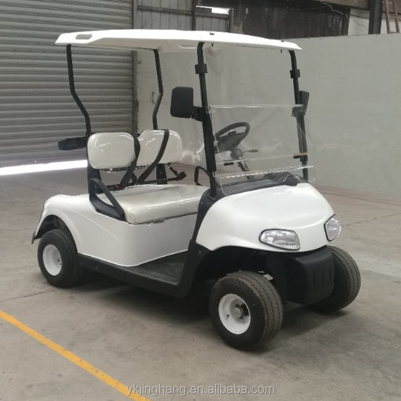 Electric Two Seater Sightseeing Club Car Electric Garden Cart Buy 4