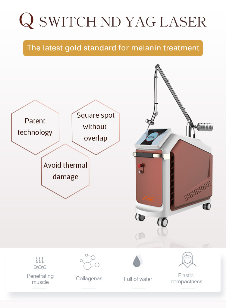 pigment removal q switch nd yag laser tattoo removal machine