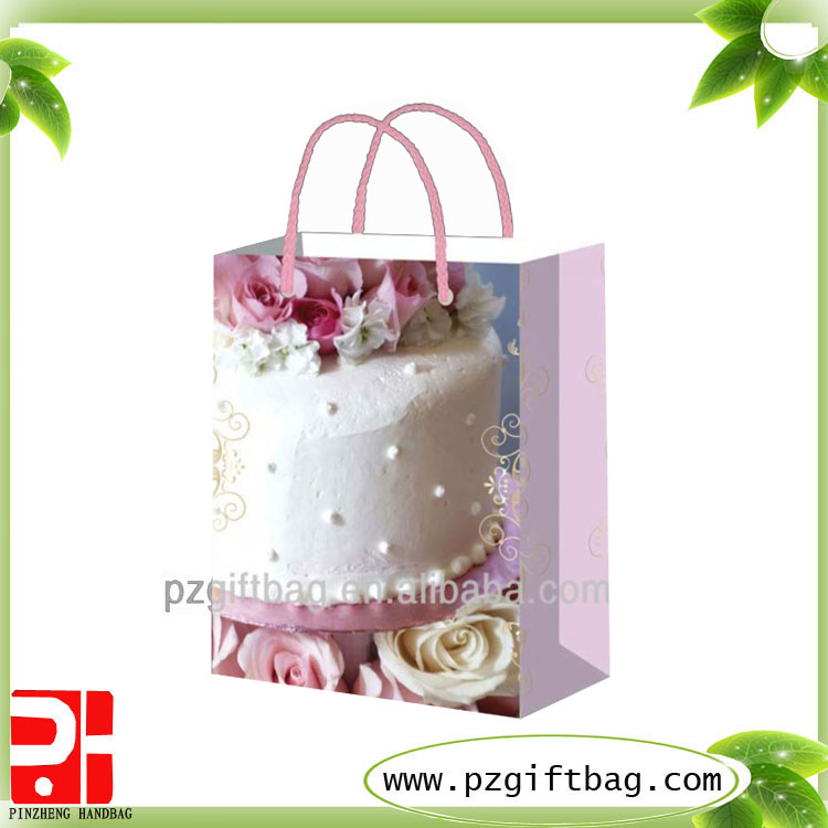 birthday paper canvas shopping bag blank
