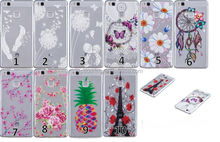 Blossom tpu gel cover case for Huawei Ascend P9 Lite, for Huawei P9 Lite Mobile phone case