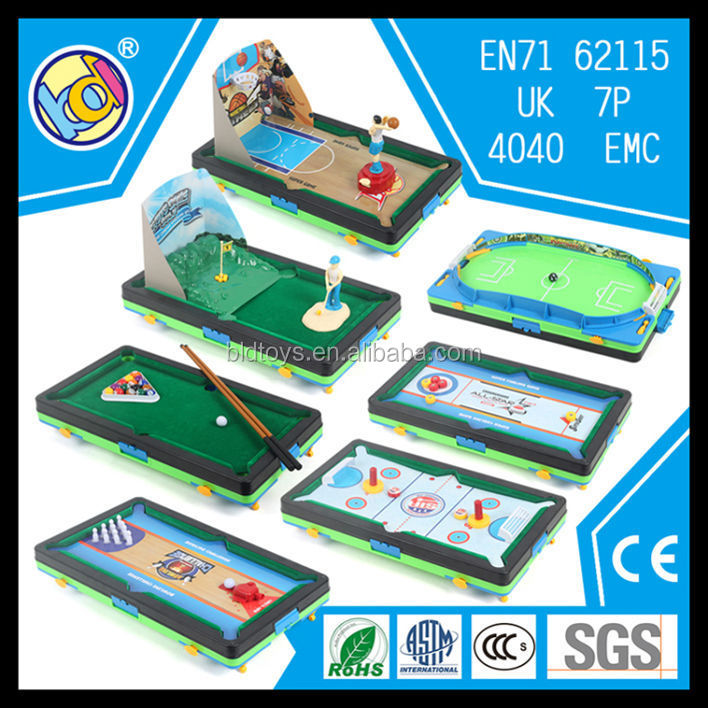 7 in 1 multi game table mini billiard soccer ball table