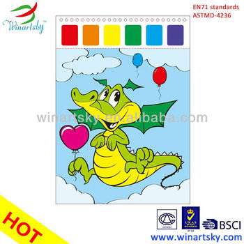 magic painting with water coloring book - Paint With Water Coloring Books