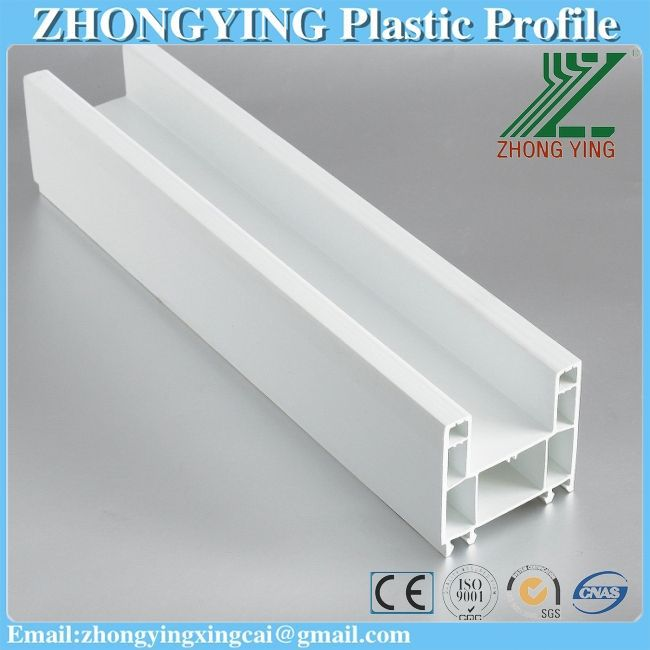Guangdong factory provide stock upvc window profile shide