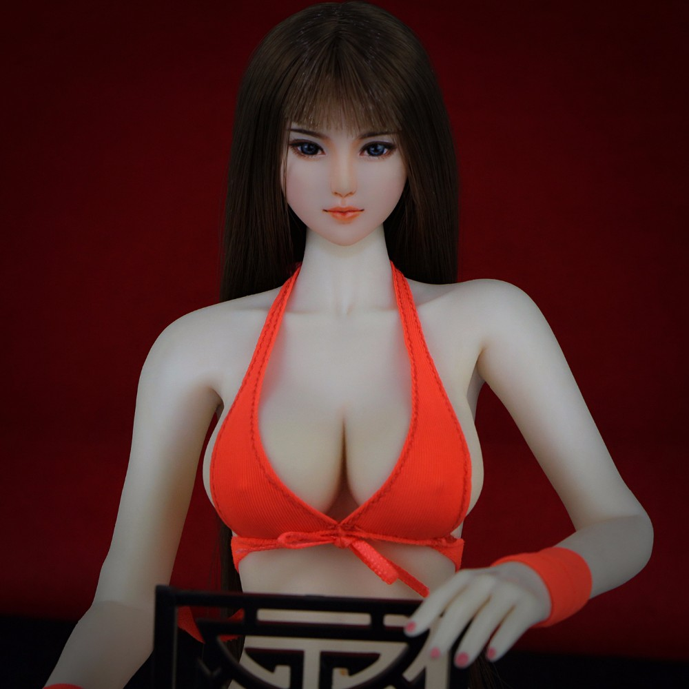 """1//6 SCALE CUSTOM nude DRESS FIT 12/"""" FEMALE SEAMLESS BODY ACTION FIGURE"""