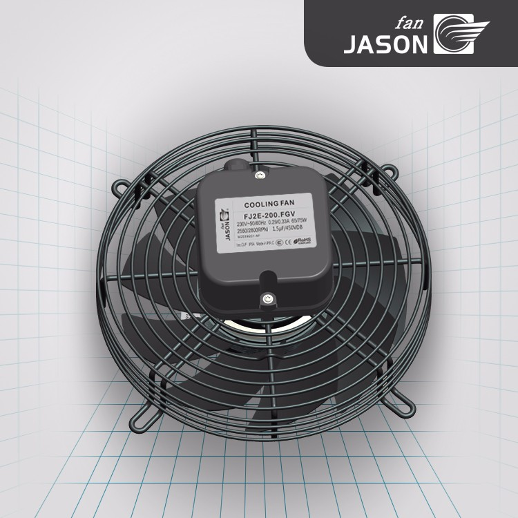 200 mm Multi-Speed External Rotor Fan/ Condenser Cooling Fan