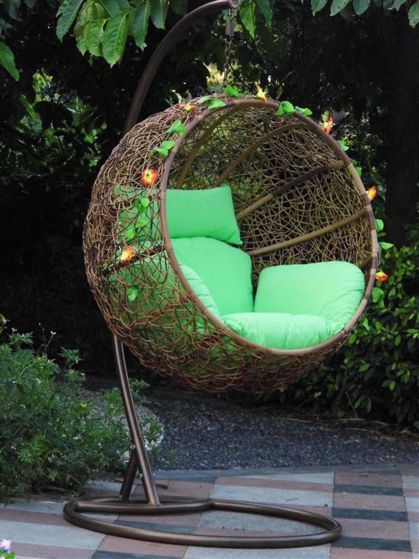 ext rieur en rotin et en osier suspendus panier si ge unique balan oire oeuf chaise b b swing. Black Bedroom Furniture Sets. Home Design Ideas