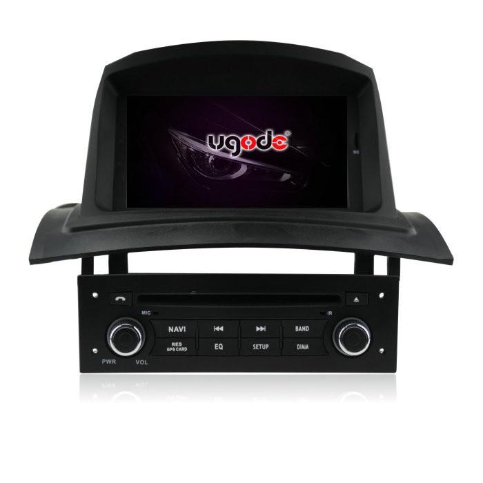 Ugode 7 Inch Double Din Car Stereo For Renault Megane 2